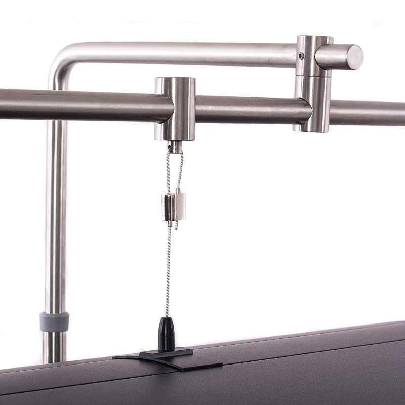 aquarium lighting mounting kit hanging system from iquatics aquarium light hanging bar aqualumi top