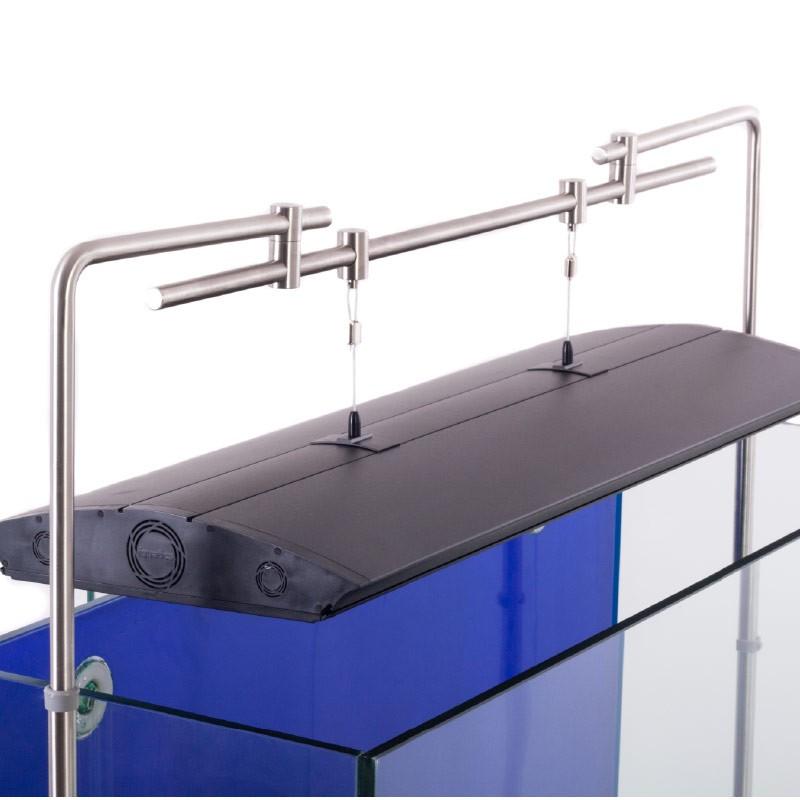 aquarium lighting mounting kit hanging system from iquatics aquarium light hanging system side tank mount