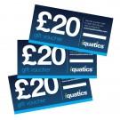 iQuatics £20 Gift Voucher