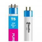 24W Aquarium T5 Fluorescent Purple Plus Fiji Tube Bulb