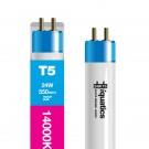 24W Aquarium T5 Fluorescent White Marine 14000K 14K Tube Bulb