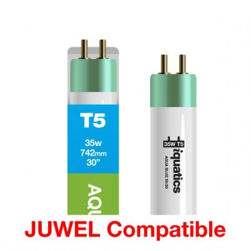 28W Juwel Aquarium T5 Fluorescent Aqua Blue 50:50 Tube Bulb Spectrum