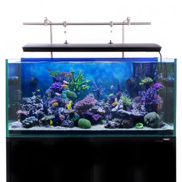 Aquarium LED lighting Bracket - back mount with corals