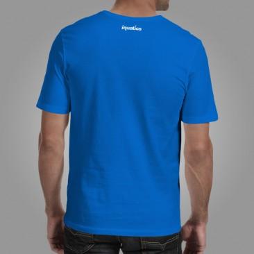 iQuatics Fish Geek T-Shirt Back