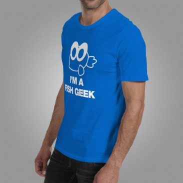 iQuatics Fish Geek T-Shirt Side