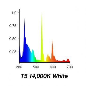 24W Juwel Aquarium T5 Fluorescent White Marine 14000K 14K Tube Bulb Spectrum