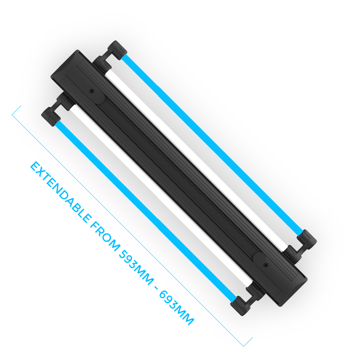 IQuatics AquaLumi Universal-2 Tube 60cm-Extending T5 Light