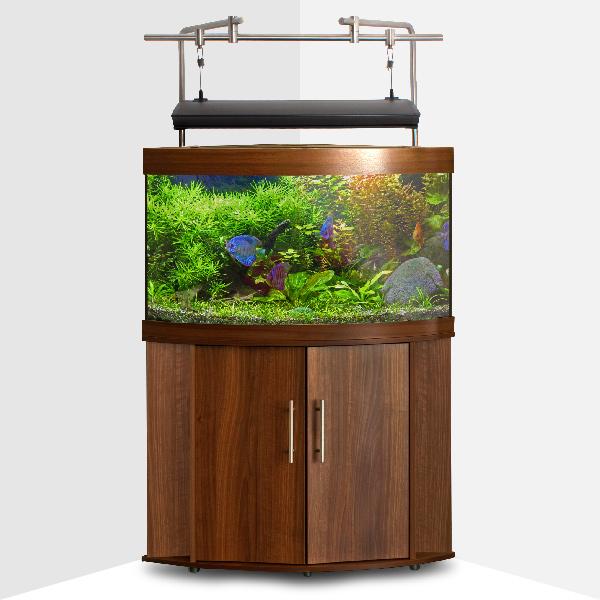 iQuatics Universal Aquarium Light Hanging System For Corner Aquariums (1200mm)